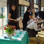 Massage beim Gesundheitstag