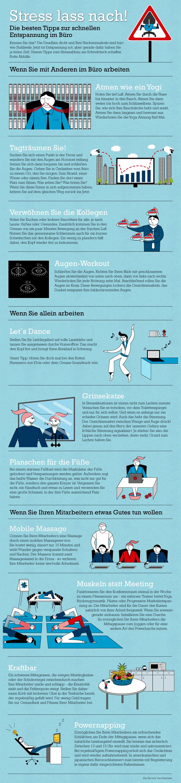 Tipps zur Entspannung im Büro