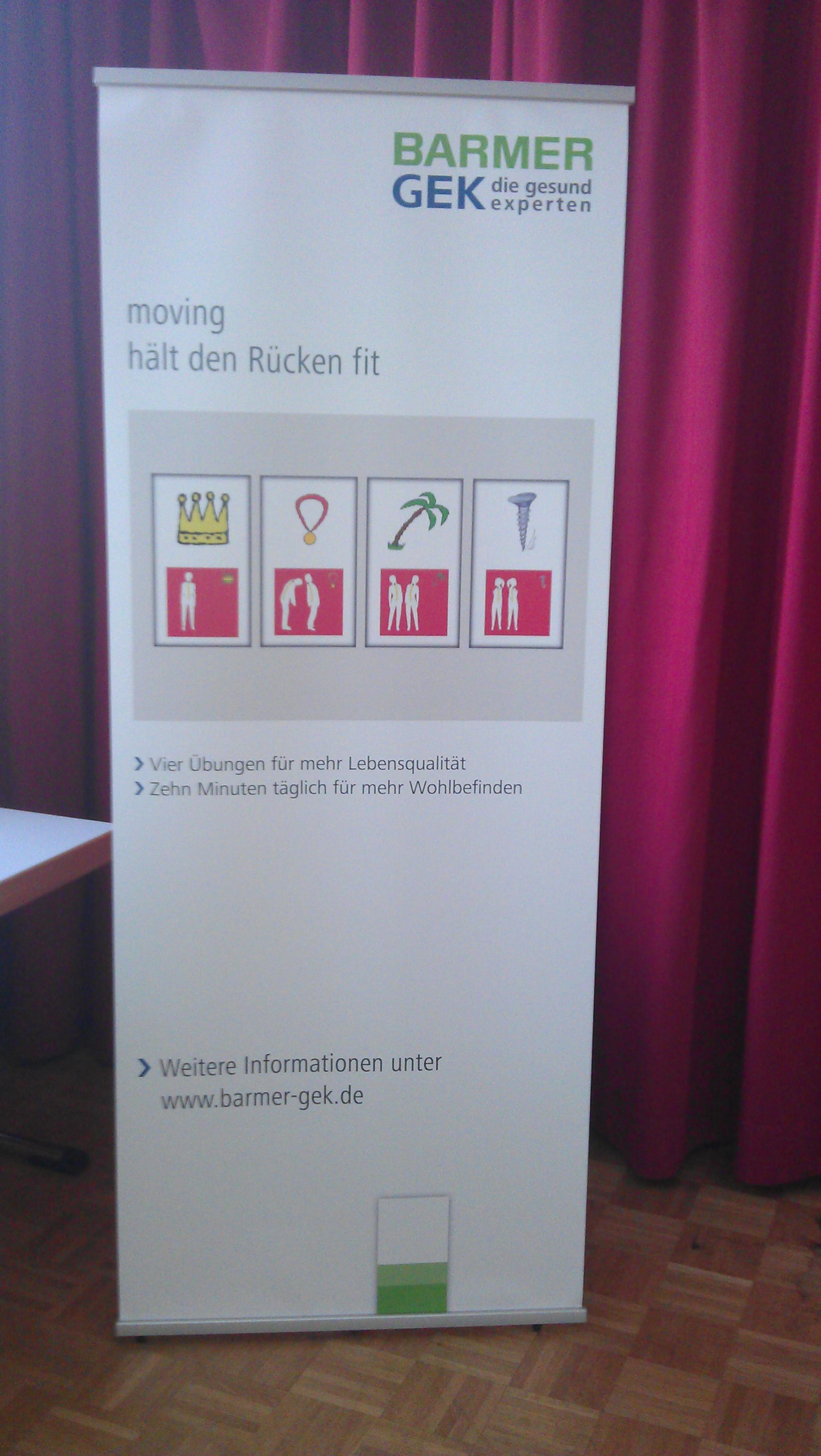 Betriebliche Gesundheitsförderung – relaxcompany in erfolgreicher Zusammenarbeit mit der BARMER GEK Frankfurt, Wiesbaden und Mainz