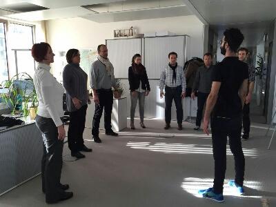 Gesundheitsmanagment – relaxcompany mit moving bei Condor in Frankfurt