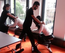Büromassage in Frankfurt