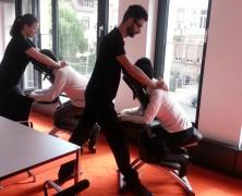 Büromassage in Frankfurt