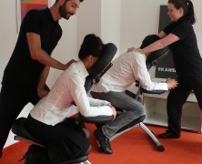 Mobile Massage im Büro in Darmstadt
