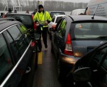 Masseurin auf dem Weg nach Ingelheim – heute mit der Fähre