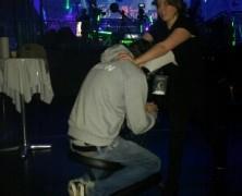 Event Massage in der Festhalle Frankfurt