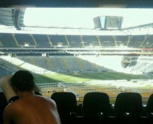 Massage in Frankfurt, Commerzbank Arena